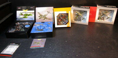 Lot of 5 Corgi Aviation Archive & Dragon Me262 WWII Aircrafts 1:72
