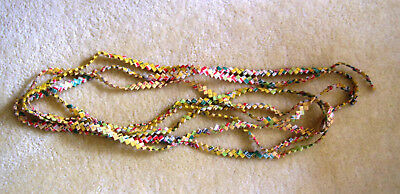 18 2/3 Feet Chewing Gum Wrapper Chain - Vintage - Made in 1961/2
