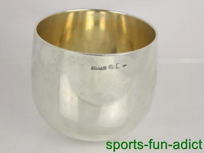 1975 BULGARI BVLGARI Italy Rounded Bottom Sterling Silver Cup Low Ball Tumbler
