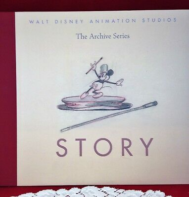 Walt Disney Animation Studios - Story - The Archive Series Hc Art Book
