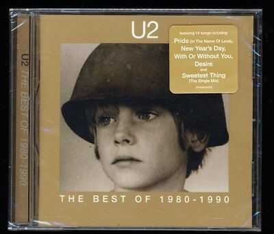 U2 'Best Of 1980-1990' NEW factory sealed CD - SAME OR NEXT DAY FREE SHIPPING