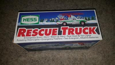 Vintage 1993 Hess Rescue Truck