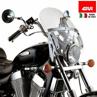 Kit Cupolino Givi A23 E Staffe As100A2 Per Xvs 650 Drag Star (97 > 02)