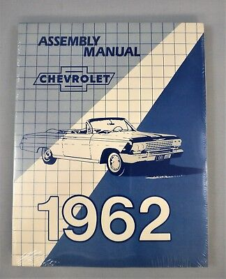 1962 Chevrolet Passenger Car Factory Assembly Manual