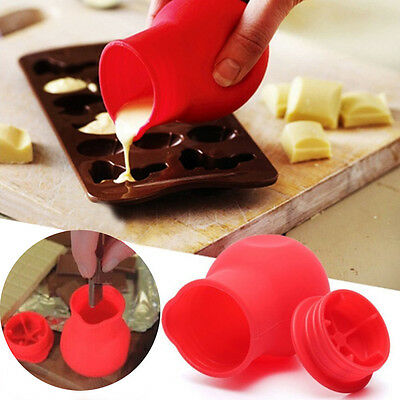 Chocolate Silicone Melting Pot Mould Milk Baking Pouring Pan Candy DIY Sub Pot