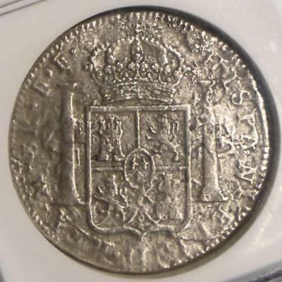 1782 MO NGC Certified Genuine El Cazador Mexico 8 Reales, Shipwreck Treasure