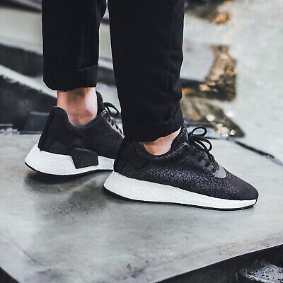 new products 4db30 25d0b Adidas WINGS + HORNS X ADIDAS NMDR2 Black Size 7 8 9 10 11 Mens Shoes