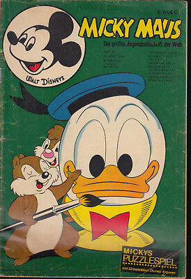 Micky Maus Nr. 13 1970 ohne Beilage