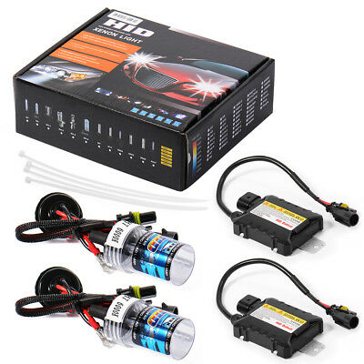 Kit 55W H7 6000K SLIM HID Xenon Ballast Conversion Bulbs Bi-xenon Ampoule LD708