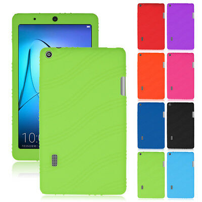"Slim Soft Silicone Case Protective Cover For 7"" Inch Huawei Mediapad T3 Tablet"