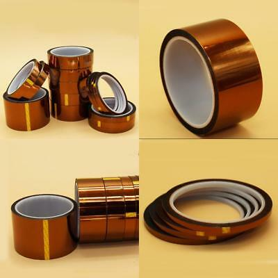 5/10/20/50mm 100ft Heat Resistant High Temperature Polyimide Kapton Tape BGA