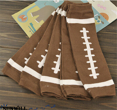 Infant Leg Warmers Basketball Football Baseballs Legs Warmer Kids Sport Socks FG