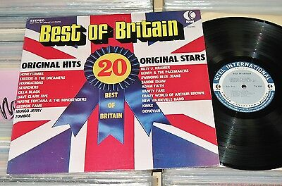 Best Of Britain - LP (mint-) 20 Original Hits/Searchers Kinks Zombies Dave Clark