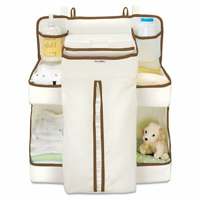 Munchkin Baby Nappy Change Organiser, With Storage Areas, NEW