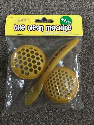 The Wean Machine Spoon & Grill Set Brand New