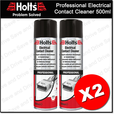 2 x Holts Professional Electrical Switch Relay & Contact Cleaner Spray HMTN0601A
