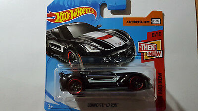 2018 Hot Wheels Corvette C7 Z06 HW Then and Now 2018 neu OVP