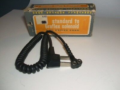 Honeywell  selinoid 3ft sync. coil cord  for Press camera