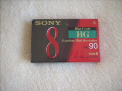 Sony Video 8 HG  PAL 90