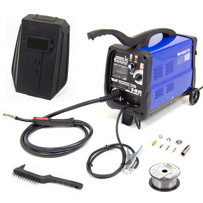 Wolf Professional MIG Welder 140 Turbo Fan Cooled Gas/No Gas Kit 135amp