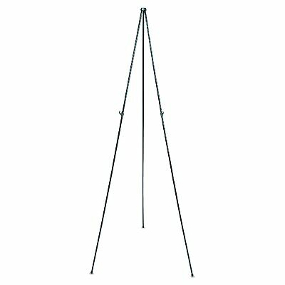 "OpenBox Quartet 29E Full Size Instant Easel, 62-3/8"" Maximum Height, Steel, Blac"