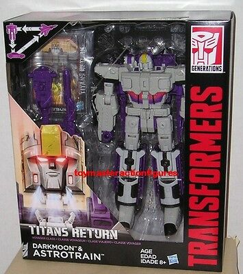 TRANSFORMERS GENERATIONS TITANS RETURN ASTROTRAIN VOYAGER CLASS In Stock
