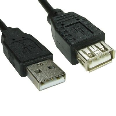 5m Long USB 2.0 EXTENSION Cable Lead A Male To A Female SHIELDED