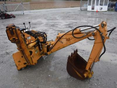 Case D100  Backhoe Attachment For Skid Steer Loaders, Quick Attach, Outriggers