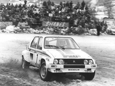 1983 Citroen Visa Competition Philippe Wambergue ORIGINAL Factory Photo oub9841