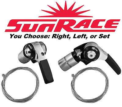Sunrace SL-R96 2//3 Front /&//or 9 Speed Rear Bar End Bike Shifter//s fit Shimano