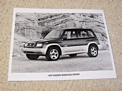 1997 Suzuki Sport Original Press Photo