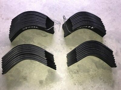 First Choice RT04  Rotocultivator Tines Eighteen each Left Hand & Right Hand