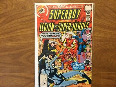 Superboy and the Legion of Super Heroes 246 Whitman No Price Variant 1978