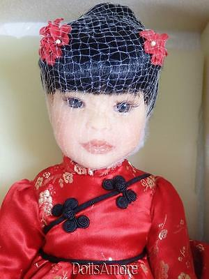 "MARIE OSMOND RESIN DOLL 2002 ""Taki"" 16"" BEAUTIFUL MIB"