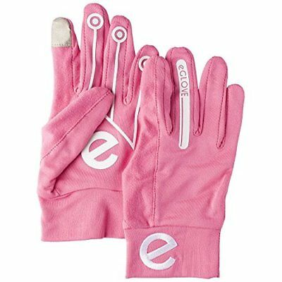 eGlove Women Sport Touch Screen Running Gloves - Pink, X-Small