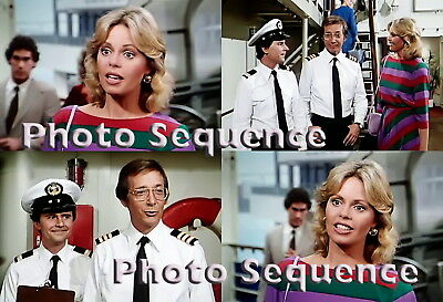 THE LOVE BOAT Toni Tennille Bernie Kopell Fred Grandy PHOTO Sequence #01