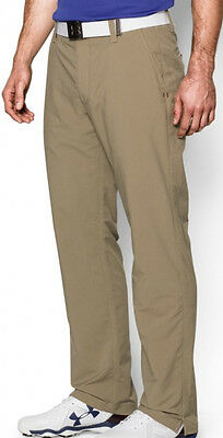 Under Armour Match Play Mens Golf Pants - Brown