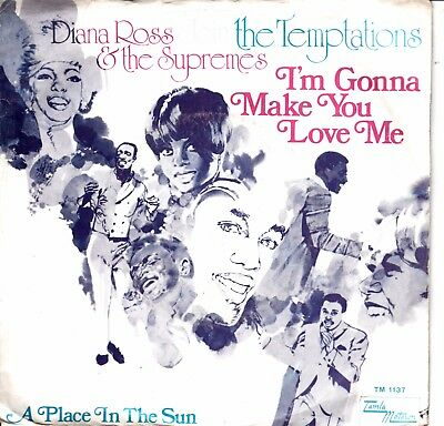 """7""""-  Diana Ross And The Supremes & The Tempations = I'm Gonna Make You Love Me"""