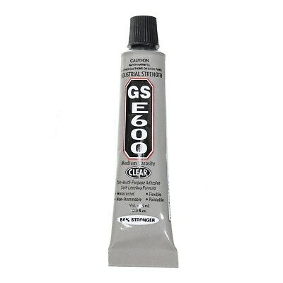 E600 Industrial Strength Clear Craft Glue 9ml for Jewellery crystal rhinestone