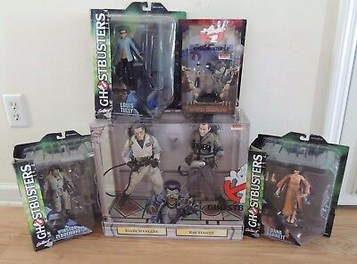Ghostbusters - HUGE LOT of AWESOME UNOPENED TOYS, Action Figures - LOOK!!
