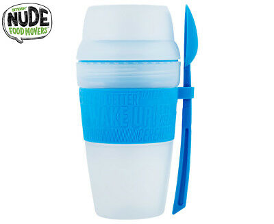 Smash Nude Food Movers Brekky Cup - Blue