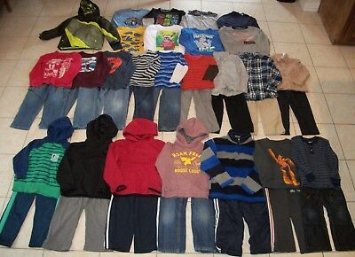 Boys Clothes/Outfits/Jacket Lot of 41 Size 5T-5/6T Winter