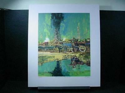 "NobleSpirit {3970}Signed/Numbered Neil Boyle Litho ""Bringing in the No. 7"""