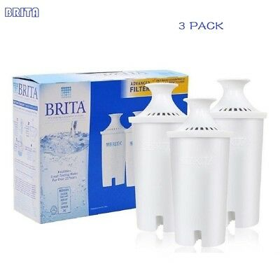 BRITA Water Filter Replacement for Pitchers-3 Pack One Box