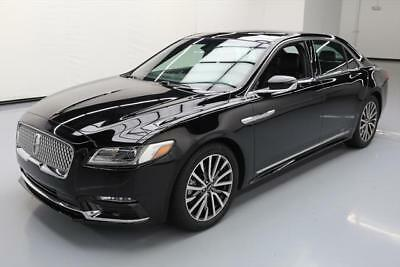 2017 Lincoln Continental Select Sedan 4-Door 2017 LINCOLN CONTINENTAL SELECT PANO ROOF REAR CAM 13K #609514 Texas Direct Auto