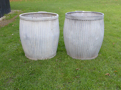 Pair Dolly/Peggy Tub-  Vintage Orig British not Repro Ideal For Christmas Trees!