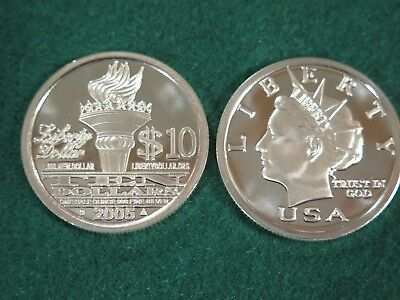 Two 2005 Norfed rounds - MINT, RARE