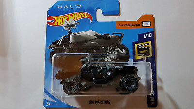 2018 Hot Wheels HALO ONI WARTHOG HW SCREEN TIME 2018 neu OVP