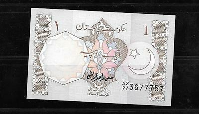 Pakistan #27F Uncirculated Old Rupee Banknote Paper Money Currency Bill Note