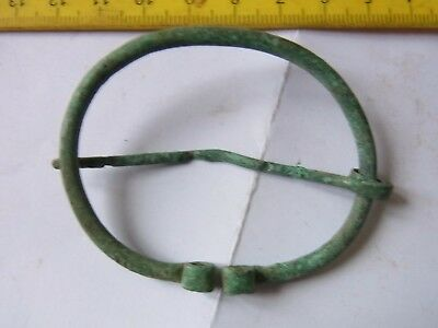 Ancient Bronze Casting Ornament Fibula